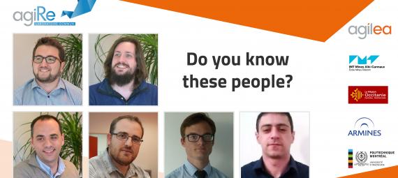 PhD students, research and development AGILEA